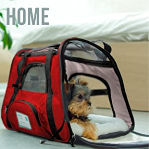Pet bag carrier for hiking outdoors road trips camping