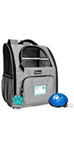 Deluxe Pet Carrier Backpack 2 Sided Entry