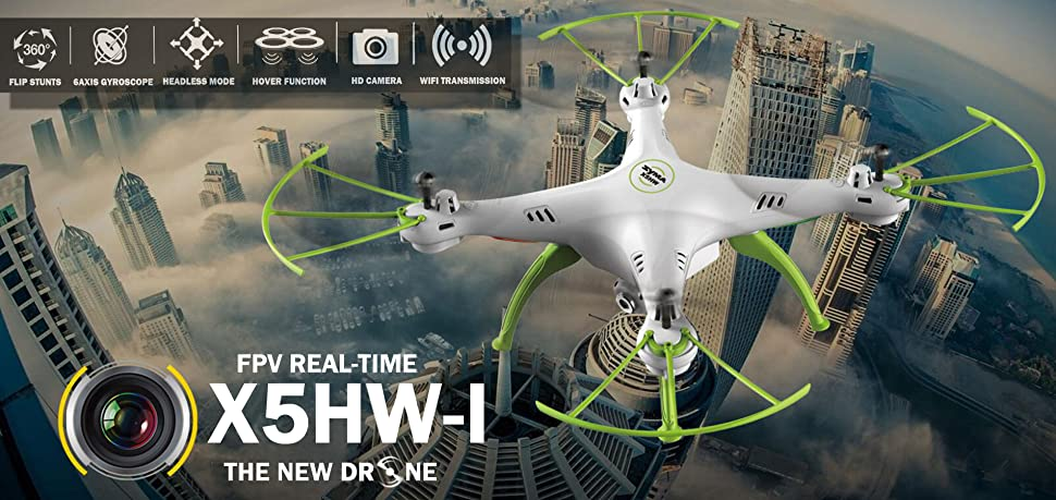 Amazon Cheerwing Syma X5hwi Wifi Fpv Drone With Hd Camera Live. X5hwi Wifi Fpv Drone 24ghz Rc Quadcopter With 6axis Gyro Good Choice For Beginners And Training. Wiring. Drone Syma X5hw Wiring Diagram At Scoala.co