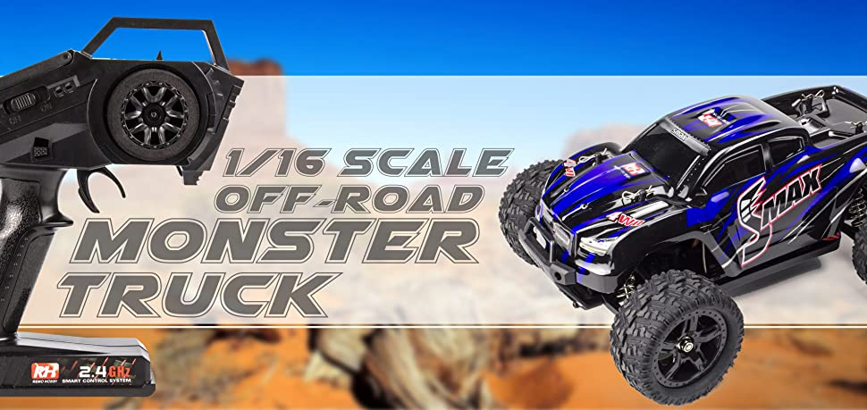 Amazon.com: Cheerwing 1:16 2.4Ghz 4WD High Sd RC Off-Road ... on traxxas rc truck sale, rc baja truck, rc truck parts, rc gas trucks sale, rc truck bodies,