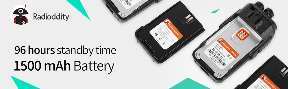 1500mAh battery can last around 96 hours on a single charge
