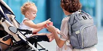 Amazon.com: Mochila para pañales de bebé, multifunción ...