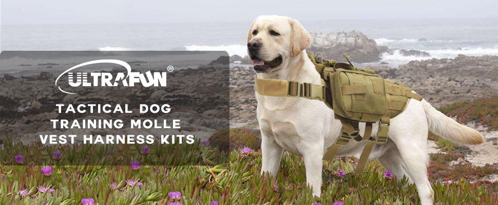 ZzbkY3i2Styz._UX970_TTW__ amazon com ultrafun tactical dog molle harness nylon training
