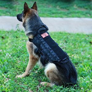 Ultrafun Dog Tactical Molle Vest