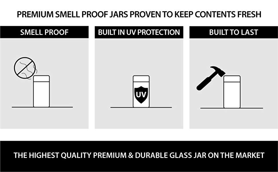 smell proof jar