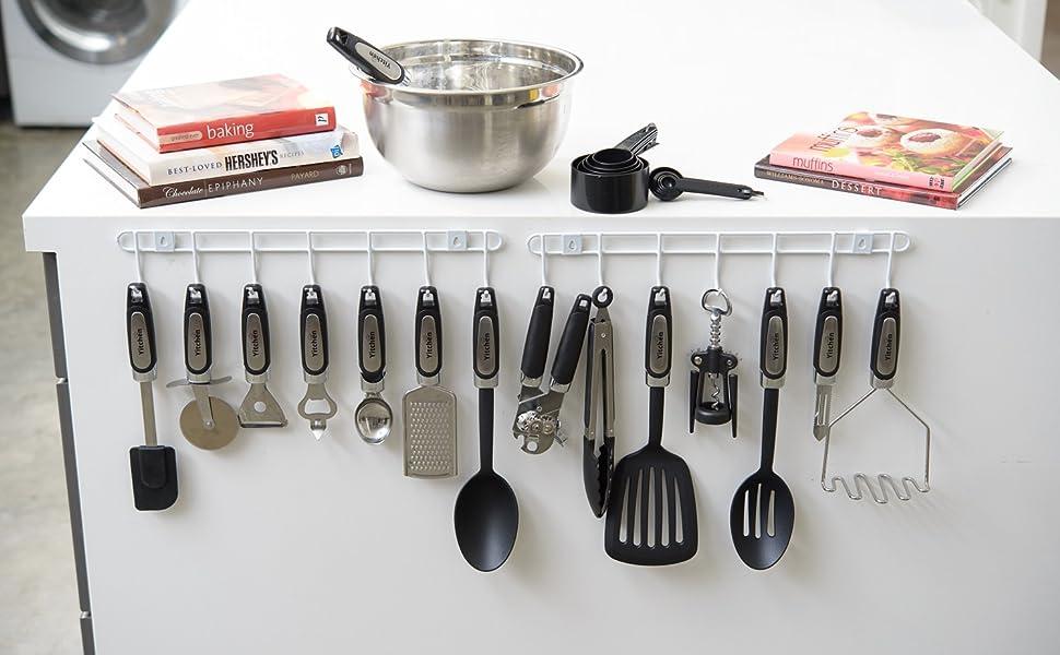 Amazon Com 25 Piece Kitchen Tool Utensil Set Cooking Gadgets