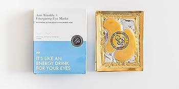 gold eye masks fabfitfun