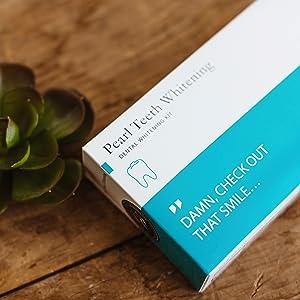 Amazon Com New Teeth Whitening Kit With Blue Led Light