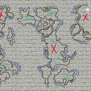 Battle Grid Game Mat - 36x24 Table Top Role Playing Map - DND Role Play -  RPG Dungeons and Dragons Maps Tiles - Reusable Miniature Figure Board Games