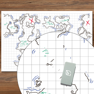 Battle Grid Game Mat Role Playing D Amp D Map Dungeons And