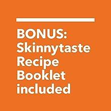 Bonus skinnytaste recipe booklet by gina homolka included with air fryer