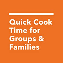 Quick cook preheat and large basket for cooking for friends families and groups