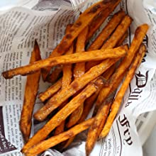 Air Fryer Used to Cook Sweet Potato Fries
