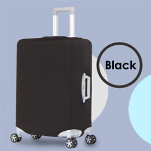 Suitcase Protector Spandex Dust Proof Covers with Zipper,Fits S18-20in Navy Blue Compass Travel Lage Cover