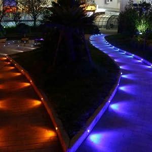 10 x 30mm RGB Deck//Decking//Plinth//Kickboard//Recessed Kitchen//Garden Lights Kit