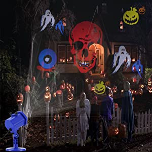 Halloween LED Projector Lights