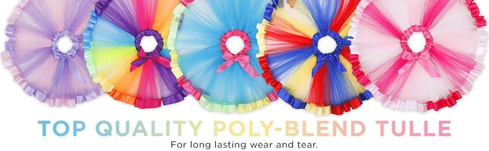 simplicity, unicorn, rainbow, tulle, tutu, headband, set, girls, children, box