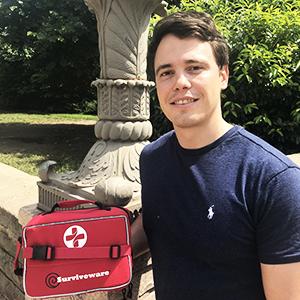 Surviveware Large First Aid Kit Selfie