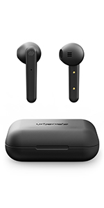 white, background, black, earphones, true, wireless, dark, earbuds, compact, charging, case