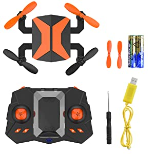 Mini Drones for Kids, RC Quadcopter Portable Foldable Drones for Beginners RC Helicopter