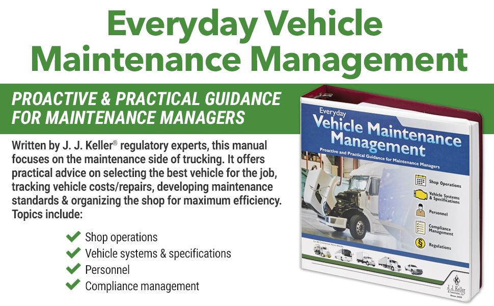 J FMCSA Keller & Associates OSHA & DOT Regulations Everyday ...