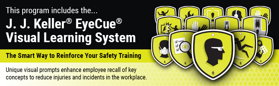 This program includes the... J. J. Keller EyeCue Visual Learning System