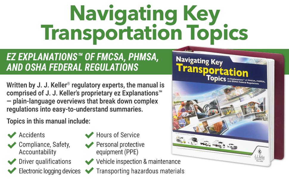 ez Explanations of FMCSA, PHMSA, and OSHA Federal Regulations