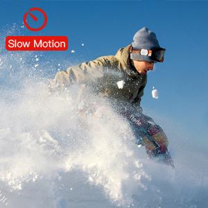 Slow motion sport camera