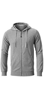 Amazon.com: Chaqueta con capucha para hombre casual con ...