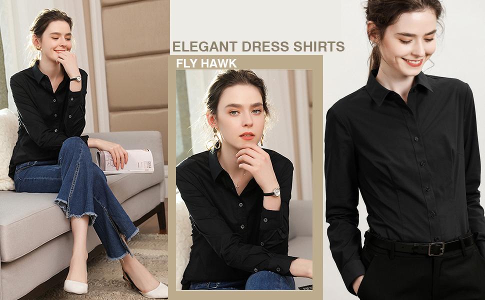 971af867a4 women dress shirt casual button down shirts blouses tops office shirts