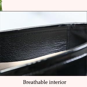 Breathable interior