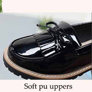 Soft pu upper