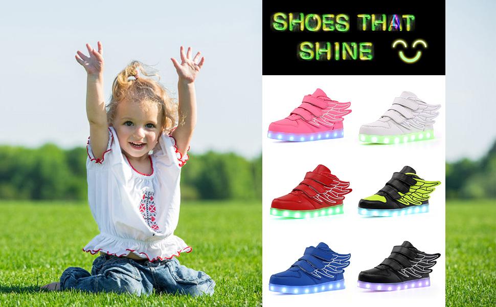 LED children sneakers