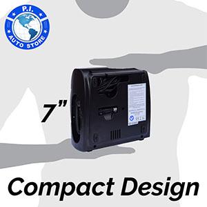 compact robust tire inflator compressor pump air portable car pressure gauge digital 12v hawk dragon