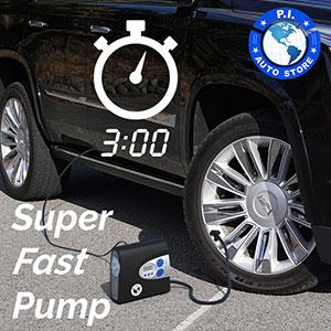 heavy duty tire inflator compressor pump air portable car pressure gauge digital 12v hawk dragon