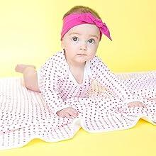 Organic Baby Blanket Organic Infant Swaddle 100% Organic Cotton Baby Pajamas