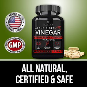 Vinegar apple cider capsules supports safe and healthy weight management
