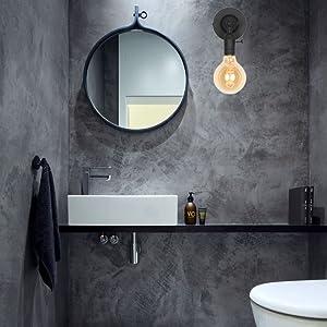 Amazon.com: XIDING - Lámpara de pared con casquillo de vela ...
