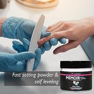mia secret cnd ez flow polvo acrlico monmero acrilic pink set clear products young white low odor
