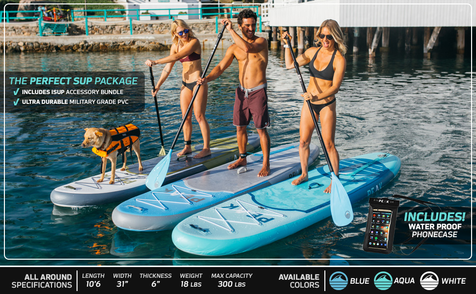 PEAK All Around Stand Up Paddle Board