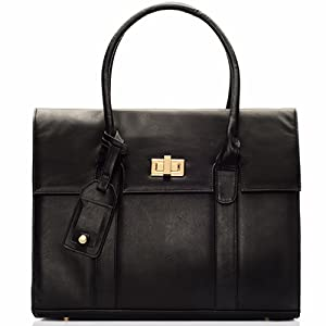 Amazon.com: Graceship Women Briefcase Shoulder Laptop Messenger ...