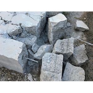 Dexpan Expansive Demolition Grout 11 Lb  Bucket for Rock Breaking, Concrete  Cutting, Excavating  Alternative to Demolition Jack Hammer Breaker,