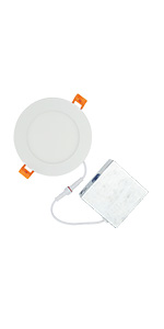 6 inch led round panel 15W 1100watt incandescent replacement