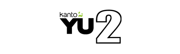 Kanto YU2 Logo with colored kanto icon