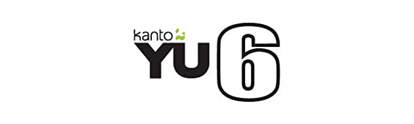 YU6 logo with colored bug
