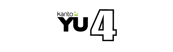 Kanto YU4 logo with colored Kanto icon