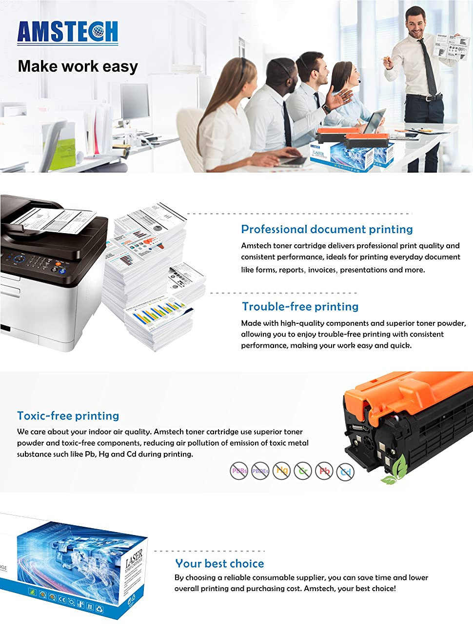 Ntta Org Pay Invoice Excel Amazoncom Amstech  Pages Compatible Black Toner Cartridge  Tax Invoice Statement Pdf with Deposit Receipts Excel  Compatible Printers Deposit Receipt Sample Word
