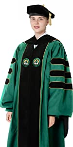574f556c75 Deluxe Doctoral Graduation Gown Only · Classic Doctoral Graduation Gown  Only · Deluxe Doctoral Graduation Gown Tam Set · Classic Doctoral  Graduation Gown ...