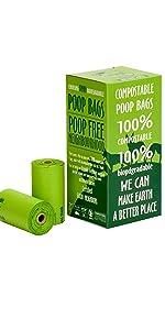 Pet Poop Bags - 120 Count
