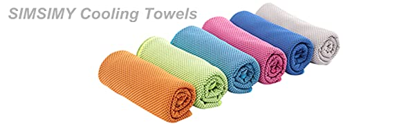 SIMSIMY Cooling Towel